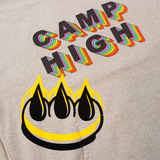 CLAW x CAMP HIGH FLOCKED HOODIE