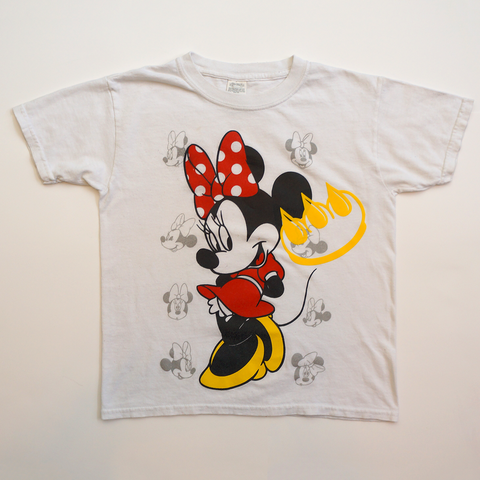 FLOCKED CLAW MINNIE MOUSE TEE