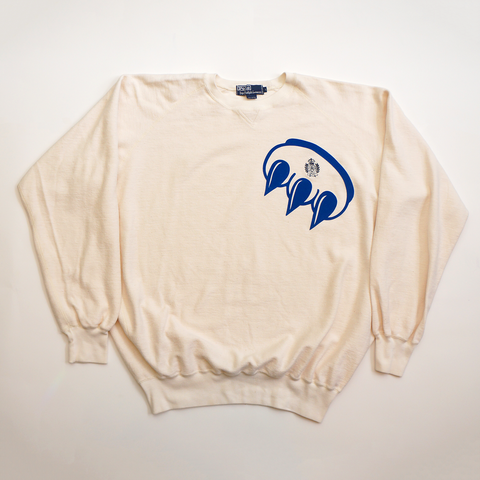 Vintage Polo Claw French Terry Sweater