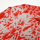 RED CLAW POLO TIE DYE TEE