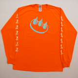 Claw Smoking Long Sleeve Tee