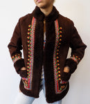 Ukrainian Sheep Skin Jacket