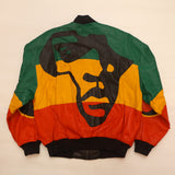 "Vintage  Leather ""AFRICA"" Jacket By Michael Hoban"