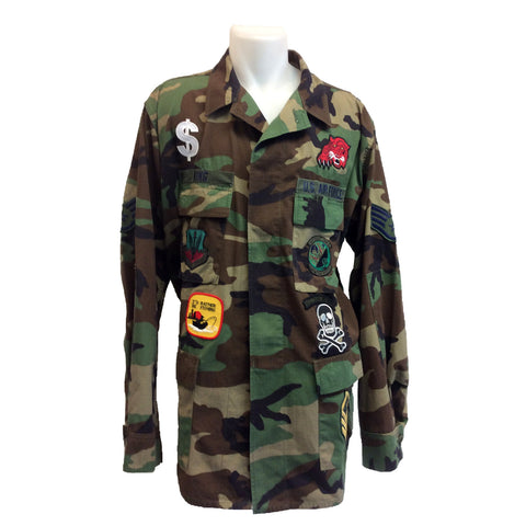 Army Patch Jacket 1