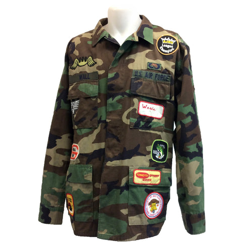Army Patch Jacket 3