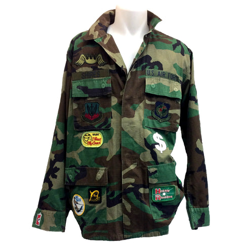 Army Patch Jacket 4
