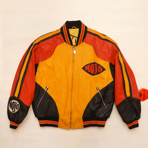 "Vintage Leather ""MOJO"" Jacket By Michael Hoban"