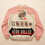 "Vintage ""HIGH ROLLER"" Leather Troop Jacket"