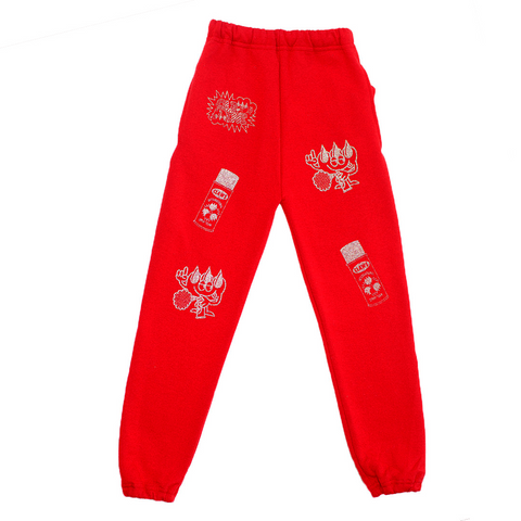 """Spray it! Don't say it!"" 3M Sweatpants"