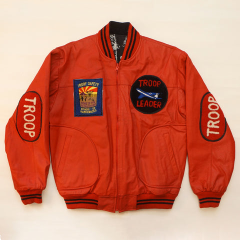 "Vintage ""School of Hard Knocks"" Troop Jacket"