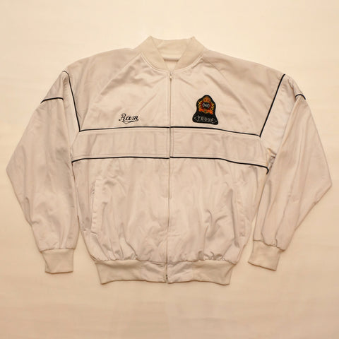 "Vintage 1980's TROOP ""Lion Crest"" Zip Down Track Jacket"