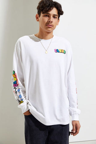 CLAW X URBAN OUTFITTERS LS TEE