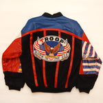 "Vintage Leather ""BORN IN THE USA"" Troop Jacket"
