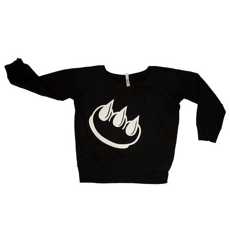 VINTAGE BLACK CLAW CREW NECK SWEATSHIRT