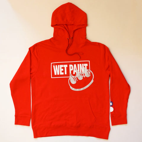 REFLECTIVE CLAW WET PAINT HOODIE