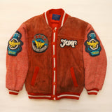 "Vintage Leather ""L.L. Cool J"" Fashion Club Troop Jacket"