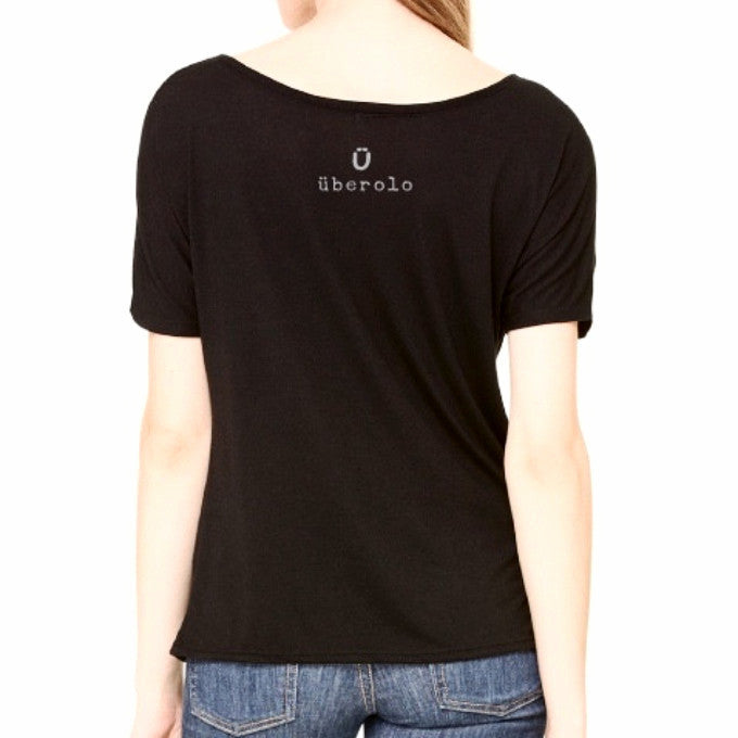 Ü ROCK Slouchy Tee: Women
