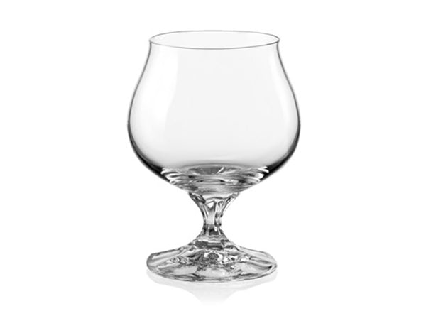 "Bohemia Crystal ""Diana"" Cognac Glasses, Set of 6, 250ml (8.45 ounces) - available for sale at http://www.wineohh.com 