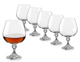 Bohemia Crystal Julia Cognac Glasses (Set of 6) - available for sale at http://www.wineohh.com | Wine Ohh!