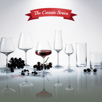 "Bohemia Crystal ""Cassia"" Crystal Wine Glasses (Set of 6) - available for sale at http://www.wineohh.com 