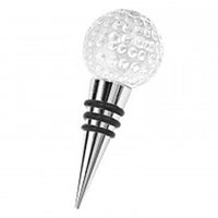 Golf Ball Wine Stopper - available for sale at http://www.wineohh.com | Wine Ohh!