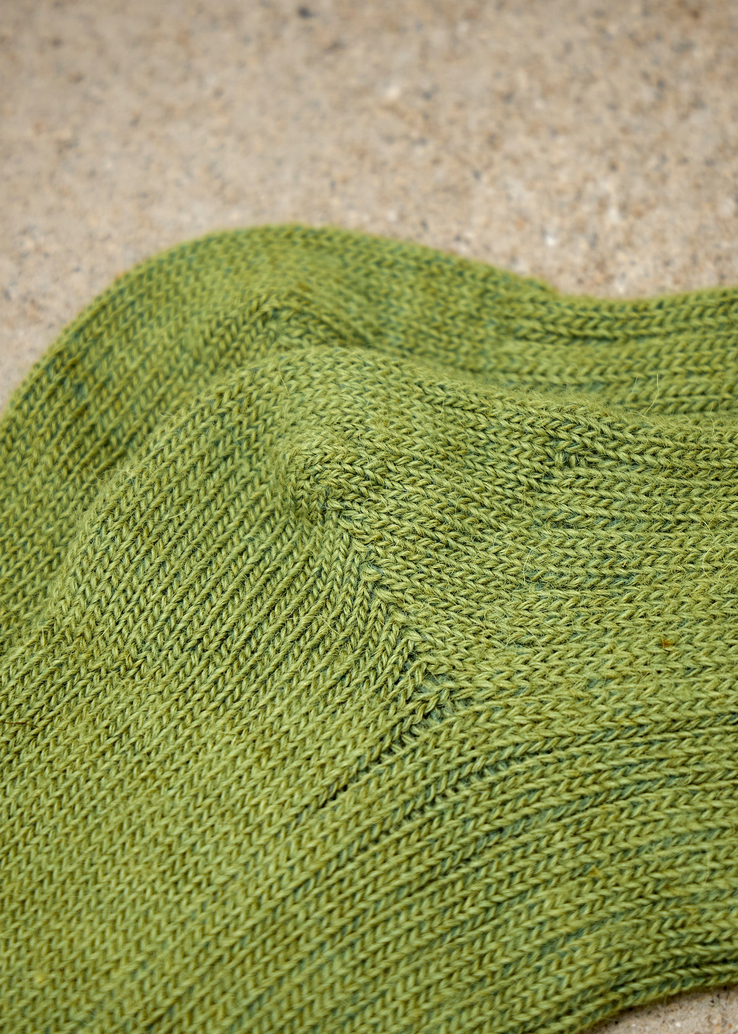 Alpaca Every Day Sock - Moss