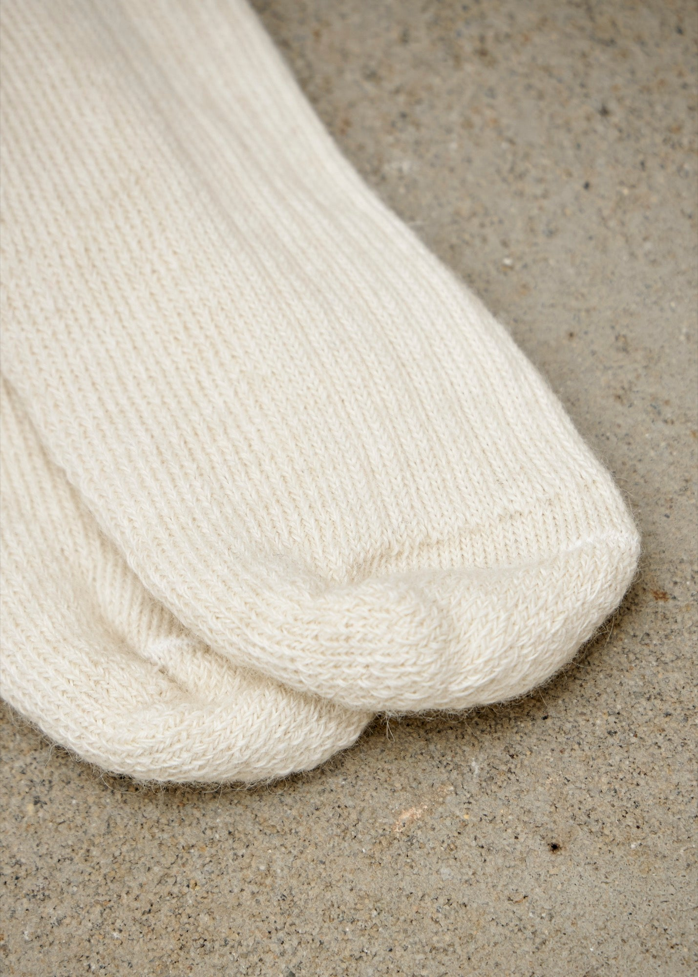 Working and Walking Socks - Cream