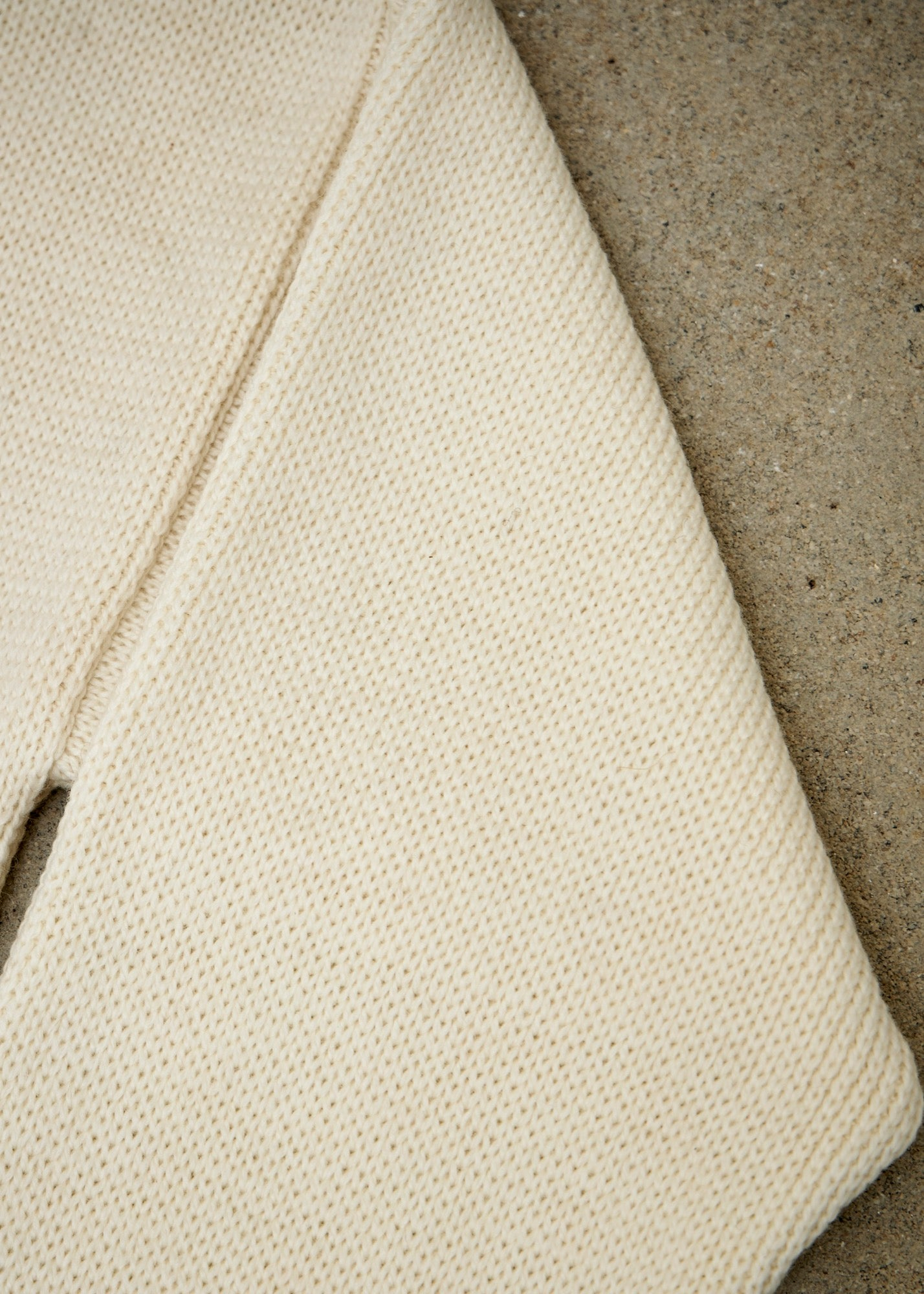 Merino Submariner Roll Neck - Cream