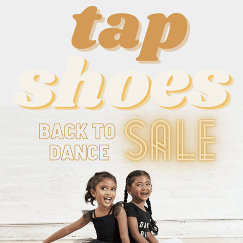 Back to Dance 2020 Tap Shoe Sale