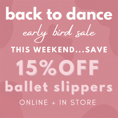 Back To Dance Sale Ballet Slippers