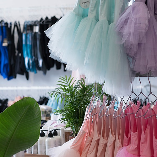 Girls and WOmens Dancewear Dancewear Centre Canada Store Location Inside