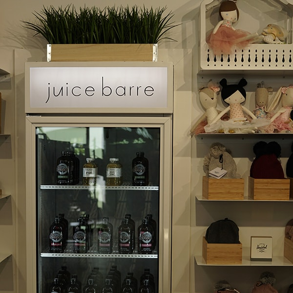 Juice Barre Fridge Dancewear Centre Canada Store Location Inside