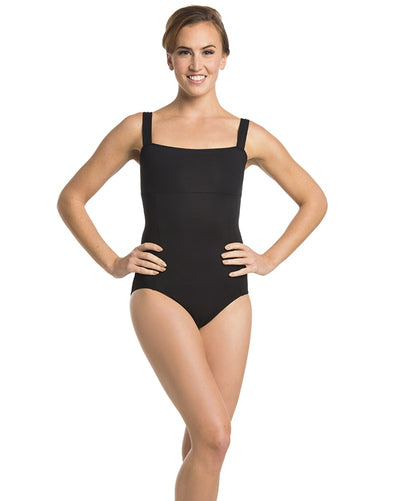 Ainsliewear 102G - Square Neck Seamed Tank Leotard Girls - Dancewear - Bodysuits & Leotards - Dancewear Centre Canada
