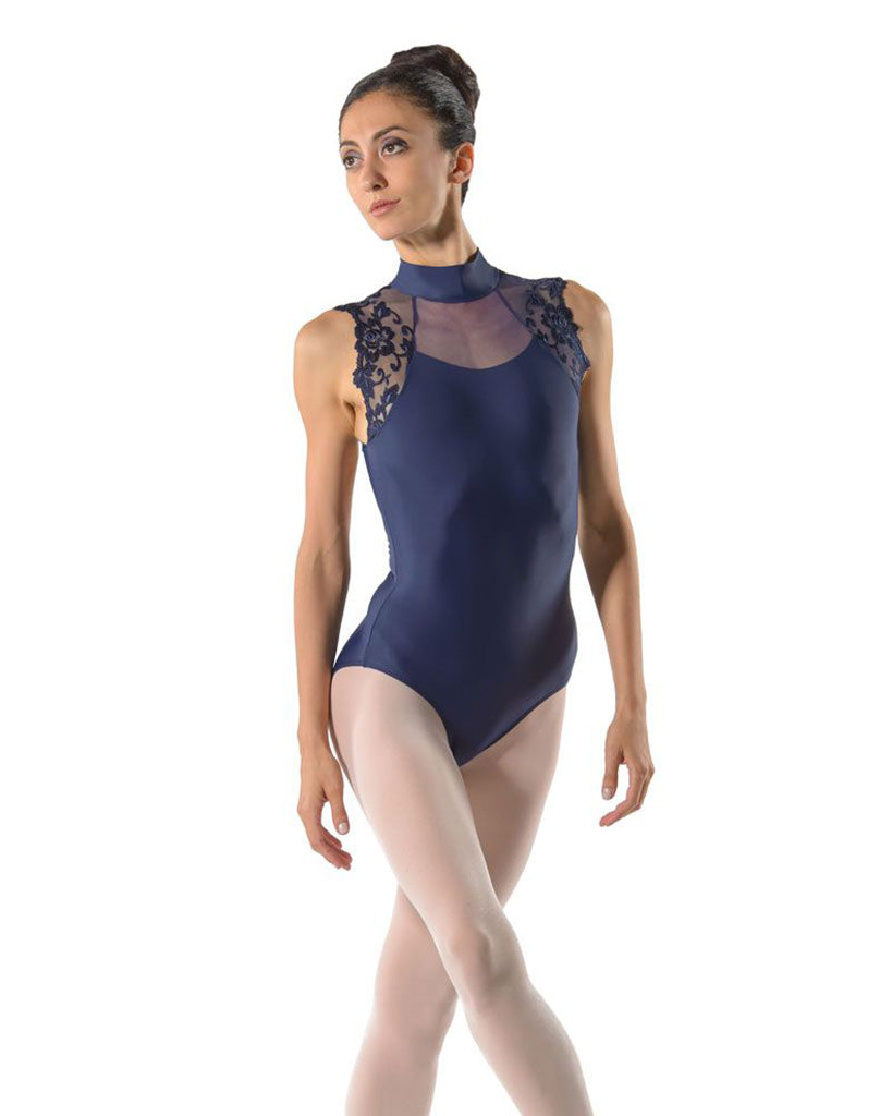 Ballet Rosa Berenice High Neck Delicate Lace Cap Sleeve Leotard - Girls - Dancewear - Bodysuits & Leotards - Dancewear Centre Canada