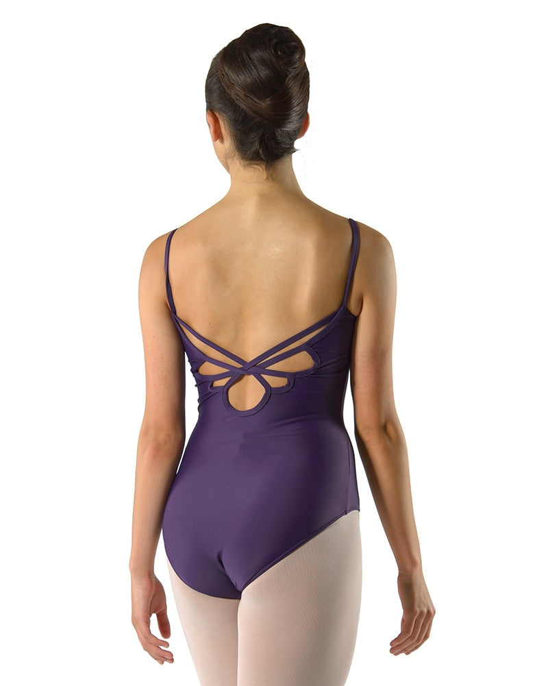 Ballet Rosa Aura Lace Insert Strap Overlay Back Camisole Leotard - Girls - Dancewear - Bodysuits & Leotards - Dancewear Centre Canada