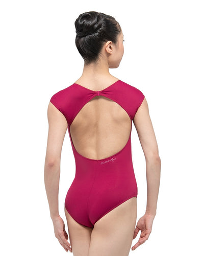 Ballet Rosa - Sissi Circular Neckline Open Back Cap Sleeve Leotard Womens - Dancewear - Bodysuits & Leotards - Dancewear Centre Canada