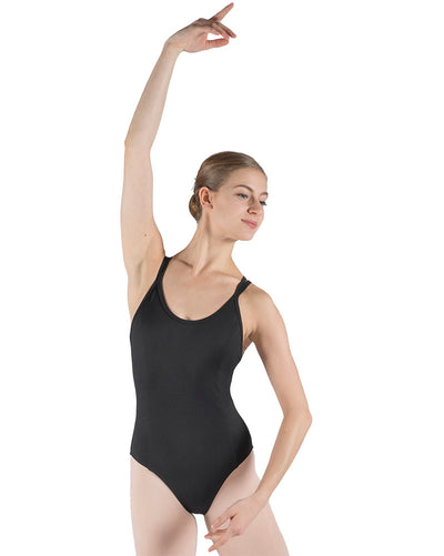 Basilica Dancewear Persephone Cross Back Princess Seamed Camisole Leotard - Womens - Dancewear - Bodysuits & Leotards - Dancewear Centre Canada