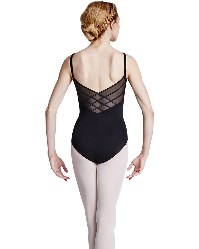 Bloch Allnatt Powermesh Back Camisole Leotard - L8820 Womens