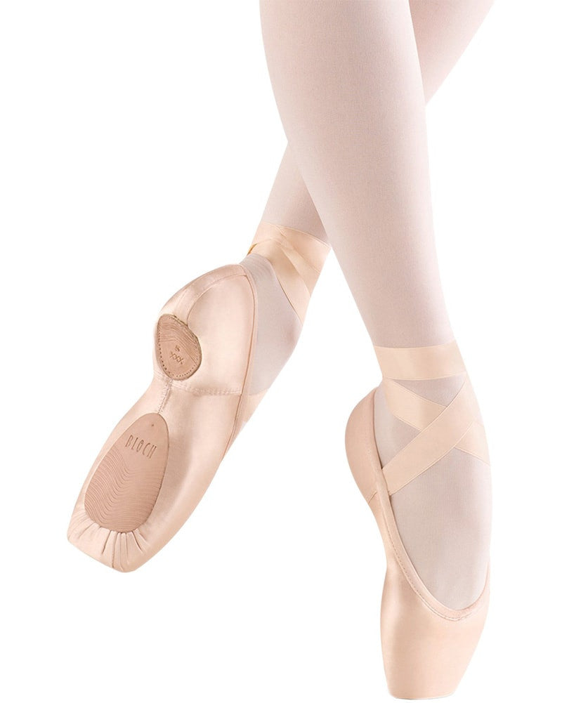 Bloch Dramatica II Stretch Satin Axis Pointe Shoes - Regular Shank - S01732 Womens - Dance Shoes - Pointe Shoes - Dancewear Centre Canada
