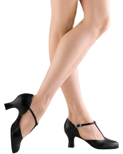 "Bloch Split Flex Leather 2.5"" Character Shoes - S0390L Womens - Dance Shoes - Character & Musical Theatre Shoes - Dancewear Centre Canada"