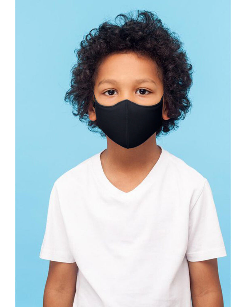 Bloch B-Safe Soft Stretch Mask - A001C Girls/Boys - Black - Accessories - Masks - Dancewear Centre Canada