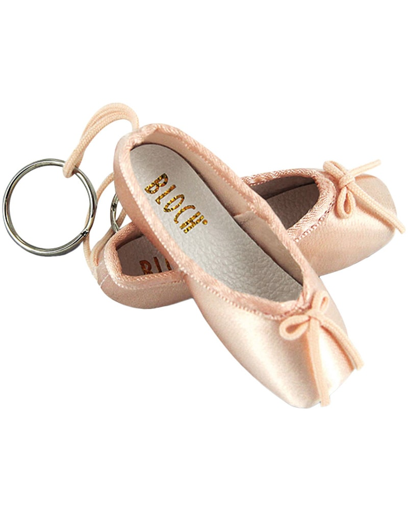 Bloch Pointe Shoe Keychain - A0604M