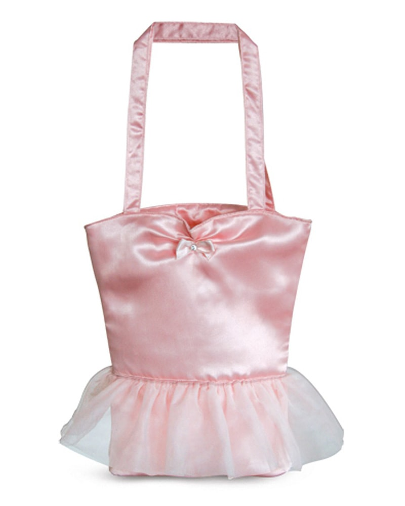 Bloch Little Ballerina Satin Tutu Dance Bag - A65 - Pink - Accessories - Dance Bags - Dancewear Centre Canada