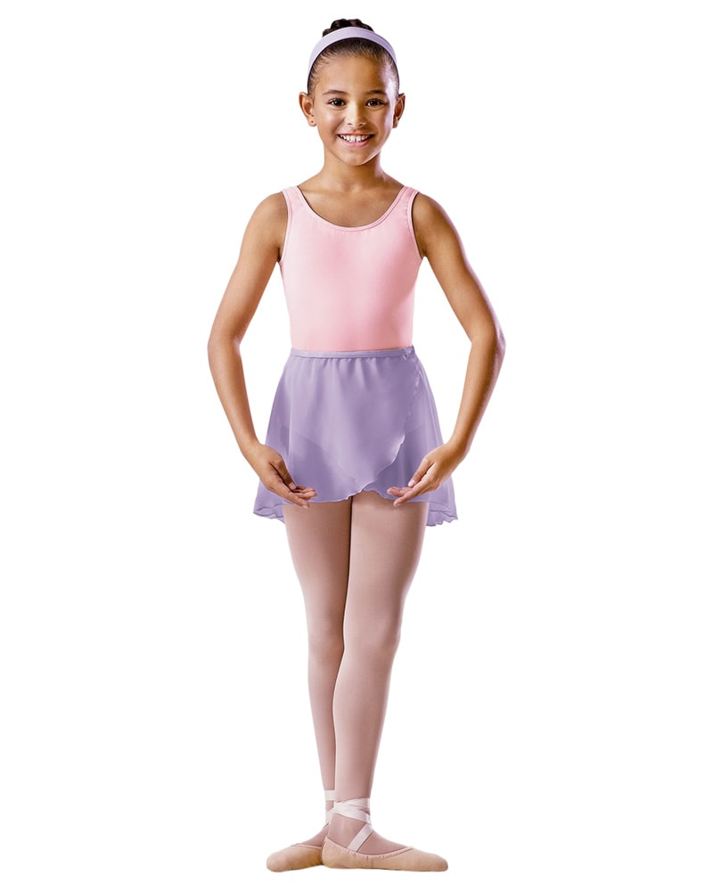 Bloch Crossover Chiffon Pull-On Ballet Skirt - BU601C Girls