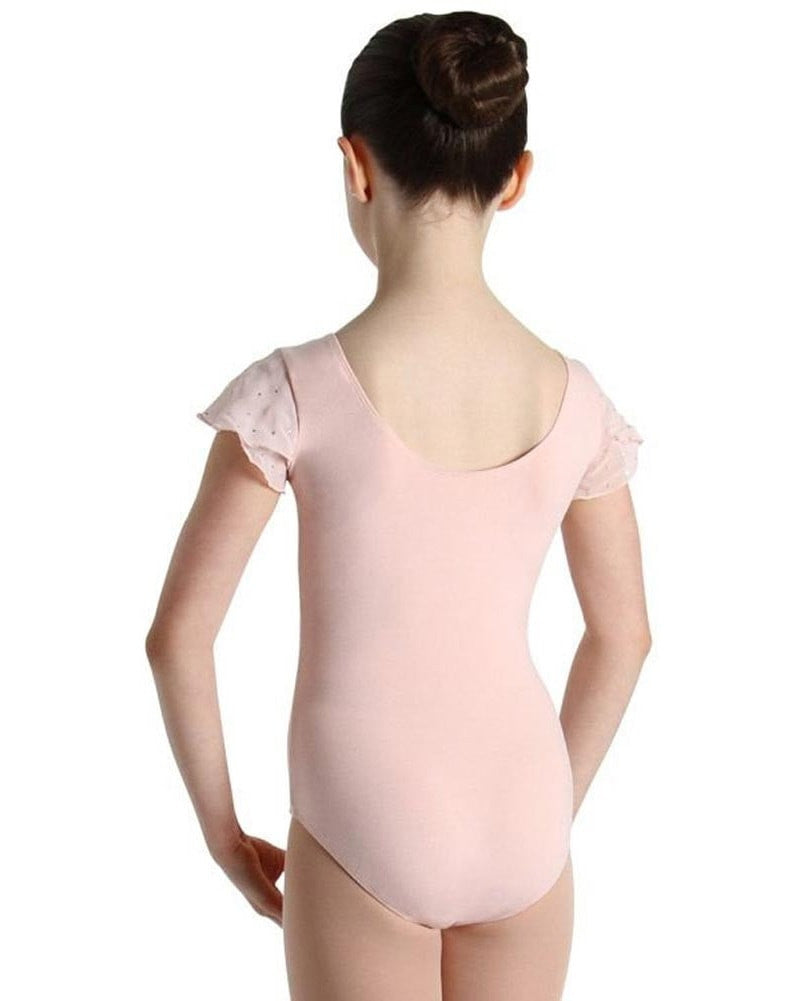 Bloch Sequin Tulip Cap Sleeve Leotard - CL3732 Girls - Dancewear - Bodysuits & Leotards - Dancewear Centre Canada