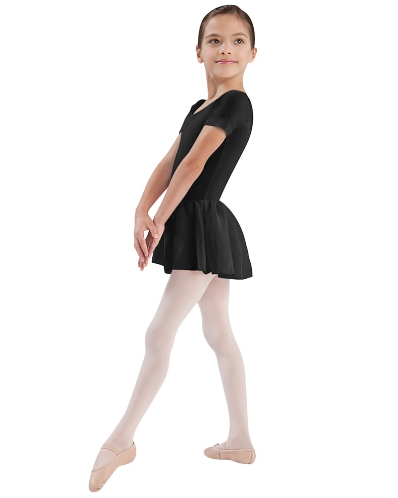 Bloch CL5342 - Classic Cap Sleeve Skirted Ballet Dress Girls
