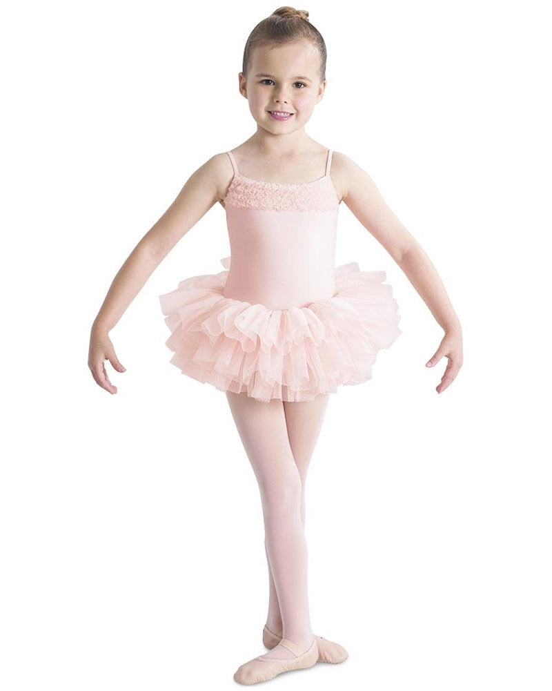 Bloch CL7120 - Ruffle Detailed Camisole Tutu Ballet Dress Girls - Dancewear - Dresses - Dancewear Centre Canada