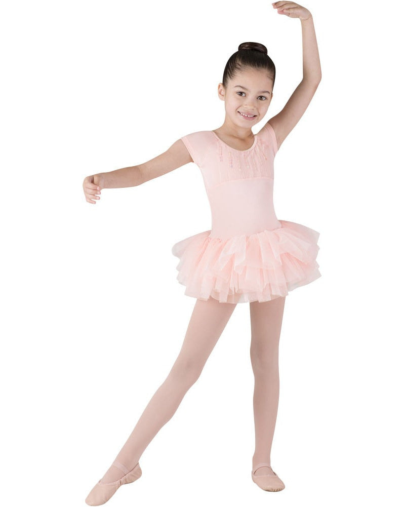 e01fd35c4 Bloch CL8012 - Sequin Trim Heart Back Tutu Ballet Dress Girls - Dancewear -  Dresses -