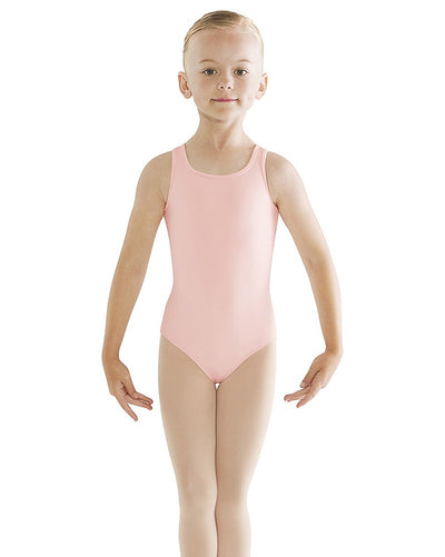 Bloch CL9535 - Limited Edition Embroidered Keyhole Back Tank Leotard Girls - Dancewear - Dresses - Dancewear Centre Canada