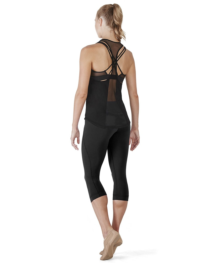 Bloch Arya Open Mesh Panelled Racer Back Tank - FT5021Womens - Dancewear - Tops - Dancewear Centre Canada